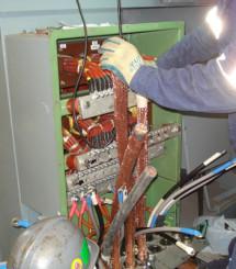 Ship electrical repairs