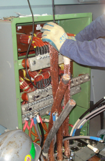 Ship electrical repairs