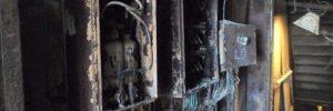 Niger Delta King Fire Damage 1st Deck Entrance Port A