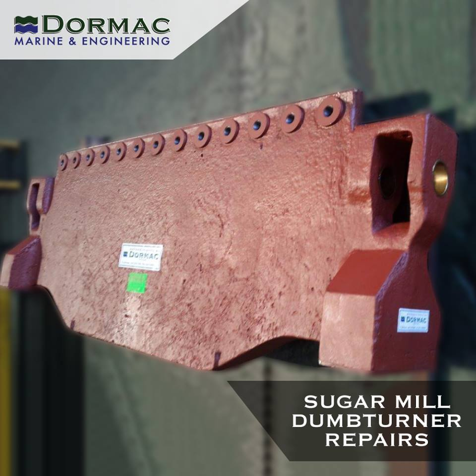 Sugar Mill Dumbturner Repairs