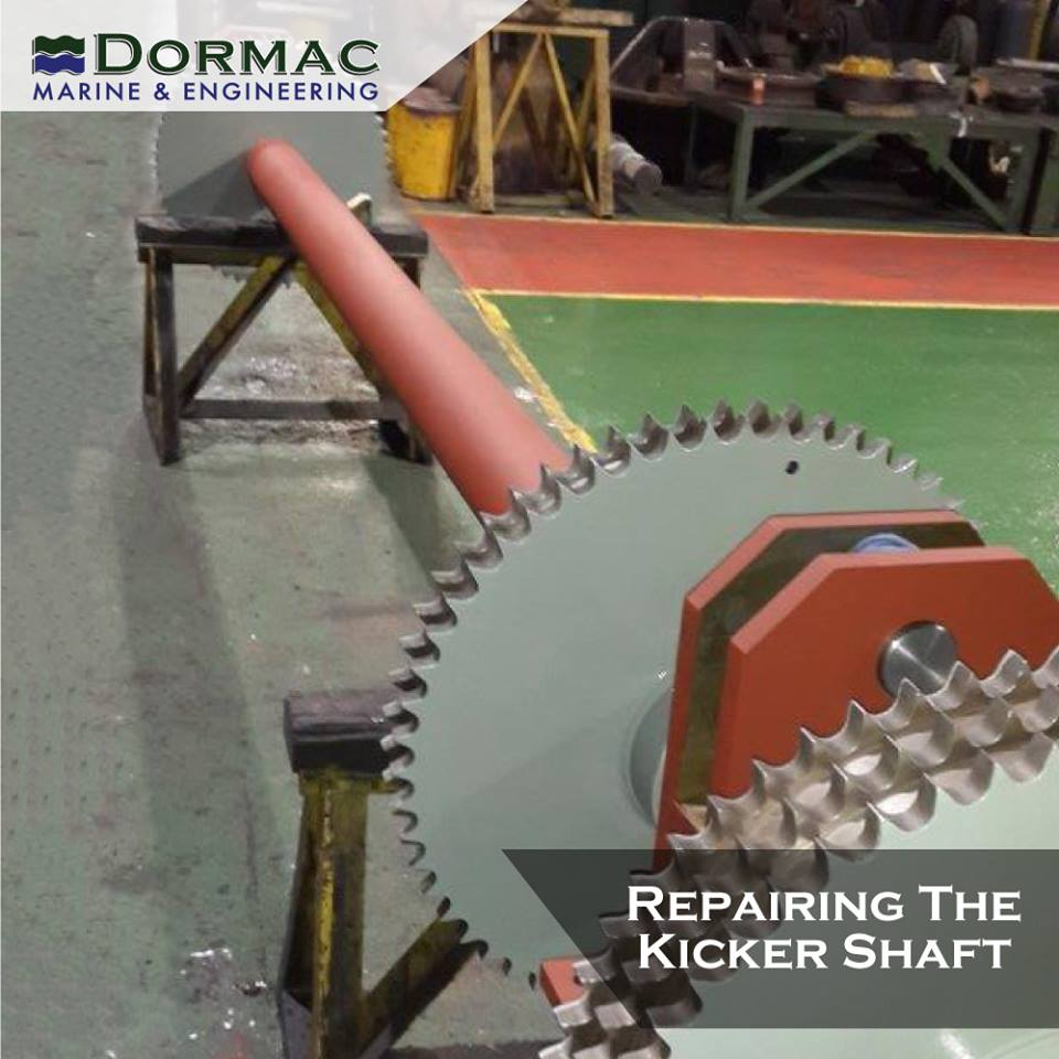 Repairing The Kicker Shaft